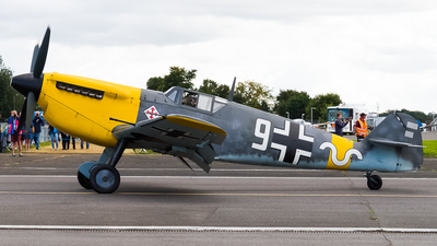 G-AWHH - Hispano HA1112 M1L Buchon - Private