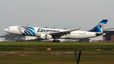 SU-GDU - Airbus A330-343 - EgyptAir