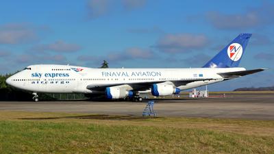 SX-FIN - Boeing 747-283B(SF) - Sky Express Aircargo