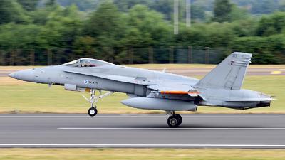 HN-435 - McDonnell Douglas F/A-18C Hornet - Finland - Air Force