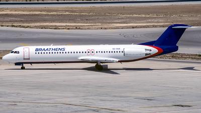SE-DUE - Fokker 100 - Braathens