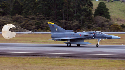 FAC3045 - IAI Kfir C10 - Colombia - Air Force