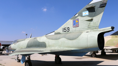 159 - Dassault Mirage 3CJ Shachak - Argentina - Air Force