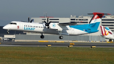 LX-LQJ - Bombardier Dash 8 402Q - Luxair - Luxembourg Airlines