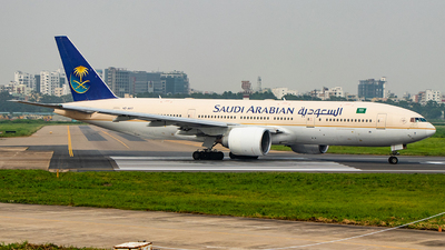 HZ-AKT - Boeing 777-268(ER) - Saudi Arabian Airlines
