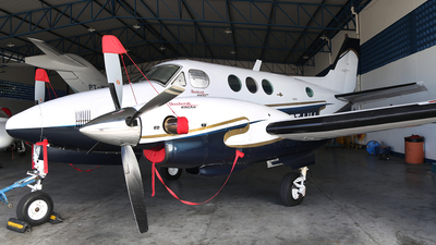 PT-LHJ - Beechcraft C90 King Air - Private