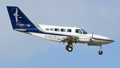 N401TJ - Cessna 402C - Cape Air