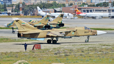 3-6852 - Sukhoi Su-24M Fencer - Iran - Air Force