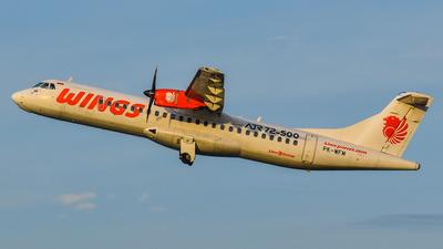 PK-WFM - ATR 72-212A(500) - Wings Air
