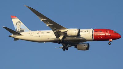 LN-LNG - Boeing 787-8 Dreamliner - Norwegian
