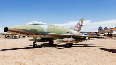 54-1823 - North American F-100C Super Sabre - United States - US Air Force (USAF)