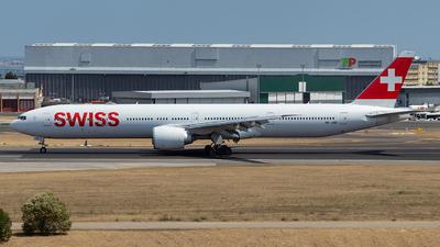A picture of HBJND - Boeing 7773DE(ER) - Swiss - © TFF4000