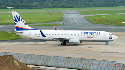 D-ASXJ - Boeing 737-86N - Eurowings (SunExpress Germany)