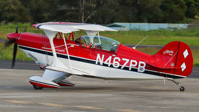 N467PB - Pitts S-2B Special - Private