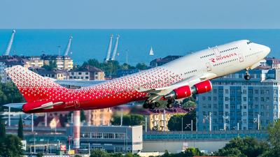 A picture of EIXLE - Boeing 747446 - Rossiya - © Alexander Lebedev
