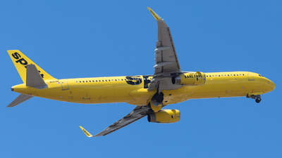 A picture of N662NK - Airbus A321231 - Spirit Airlines - © Alonso Cisneros