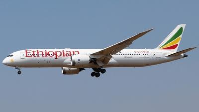 ET-AXS - Boeing 787-9 Dreamliner - Ethiopian Airlines