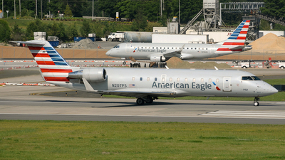 N207PS - Bombardier CRJ-200ER - American Eagle (PSA Airlines)