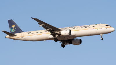 HZ-ASM - Airbus A321-211 - Saudi Arabian Airlines
