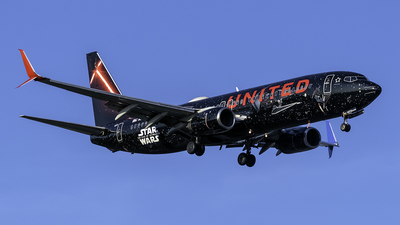 A picture of N36272 - Boeing 737824 - United Airlines - © kennedyspotting