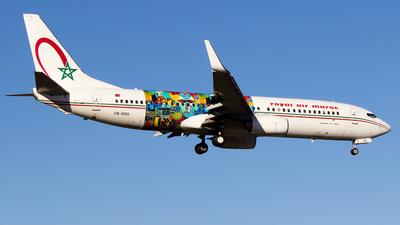 CN-RGH - Boeing 737-86N - Royal Air Maroc (RAM)