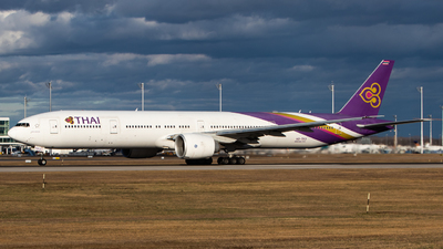 A picture of HSTKO - Boeing 7773AL(ER) - Thai Airways - © Tim Donell
