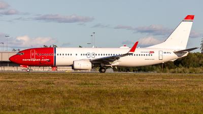 SE-RPU - Boeing 737-8JP - Norwegian