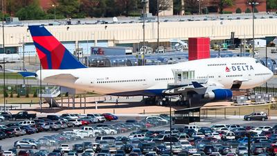 N661US - Boeing 747-451 - Delta Air Lines