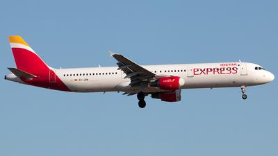 EC-JDM - Airbus A321-211 - Iberia Express