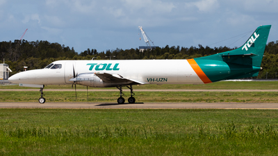 A picture of VHUZN - Fairchild Swearingen Metroliner - Toll Aviation - © Brandon Giacomin