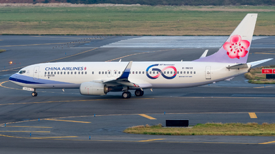 B-18659 - Boeing 737-8SH - China Airlines