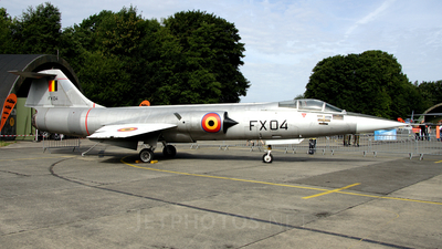FX-04 - Lockheed F-104G Starfighter - Belgium - Air Force