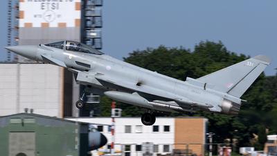 A picture of ZK331 - Eurofighter Typhoon FGR.4 -  - © Maximilian Haertl