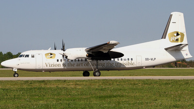 OO-VLP - Fokker 50 - Vizion Air (VLM Airlines)