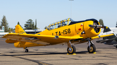N158JZ - North American T-6G Texan - Private