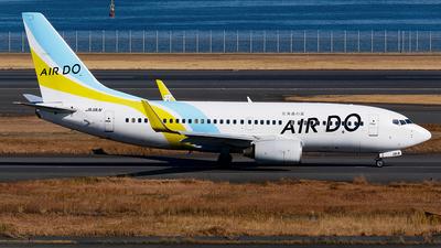 A picture of JA11AN - Boeing 737781 - Air Do - © Shogo Kawai