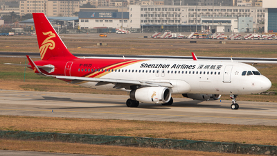 A picture of B8635 - Airbus A320232 - Shenzhen Airlines - © TommyNG