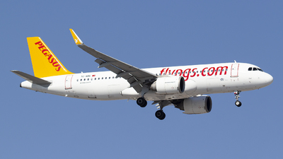 A picture of TCNBE - Airbus A320251N - Pegasus Airlines - © Bora Polater