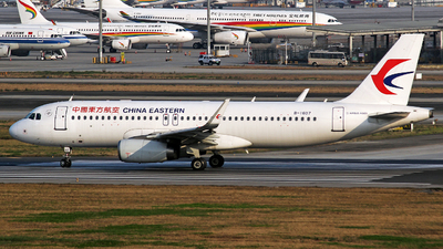 A picture of B1607 - Airbus A320232 - China Eastern Airlines - © YuPeng Liu