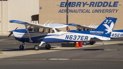 N637ER - Cessna 172S Skyhawk - Embry-Riddle Aeronautical University (ERAU)