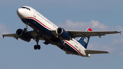 N604AW - Airbus A320-232 - US Airways