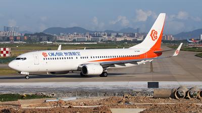 B-5841 - Boeing 737-8Q8 - OK Air