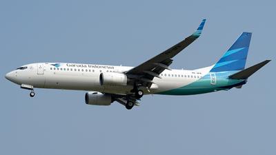 A picture of PKGFR - Boeing 73781D - Garuda Indonesia - © Hafit Irawan