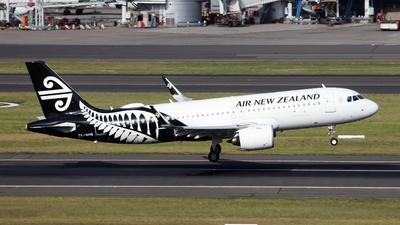 ZK-NHB - Airbus A320-271N - Air New Zealand
