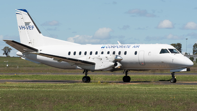 VH-VEF - Saab 340B - Corporate Air