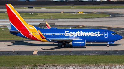 N7876A - Boeing 737-7Q8 - Southwest Airlines