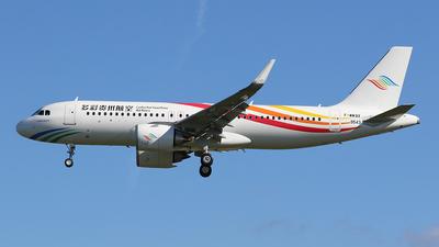 A picture of FWWBX - Airbus A320 - Airbus - © BizavMen
