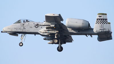 79-0183 - Fairchild A-10C Thunderbolt II - United States - US Air Force (USAF)
