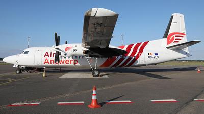 OO-VLS - Fokker 50 - Air Antwerp