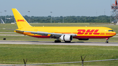A picture of N276DH - Boeing 7673Q8(ER)(BDSF) - DHL - © Paul W